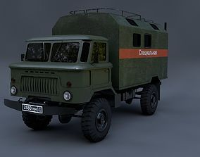 3D model Gaz-66