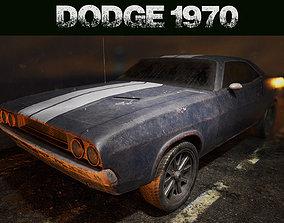 Dodge Challenger 1970 3D asset VR / AR ready