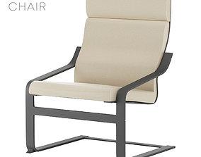 Poang Chair 3D