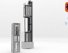 Elevator Lift 3D model