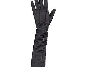 3D model Leather Detail Gloves