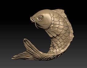 a big fish 3D print model