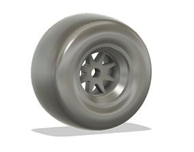 Formula 1 Car Rear Tyre 2020 3D printable model
