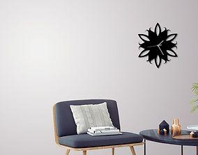 3D print model Decorative Wall Clock C4