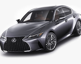 3D model Lexus IS300 2021