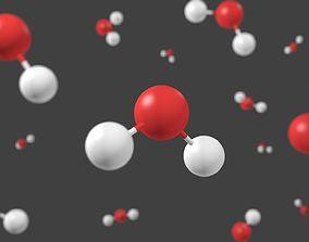 Water molecule - Model