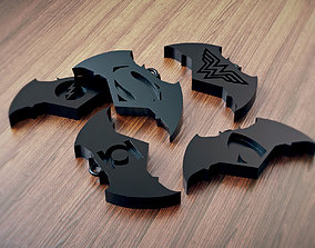 Justice League Keychain 3D printable model