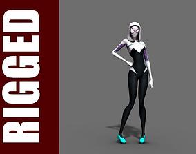 Spider-Gwen Rig 3D