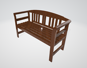 Basic Bench 3D printable model