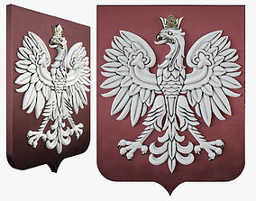3D printable model Rzeczpospolita coat of arms
