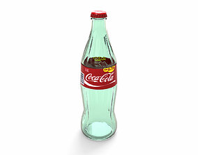 3D model Bottle of Coca-cola