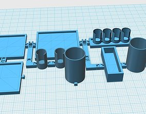3D printable model Organizer Set