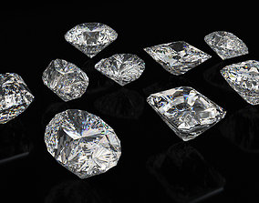 3D model Diamond Cuts