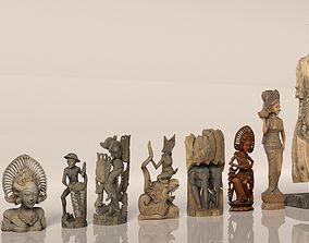 3D model Scan Pack - Asian Art