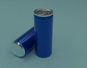 Beverage cans 250ml 3D