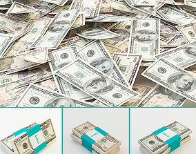 Dollars 3D model
