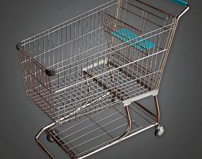 3D asset Shopping Cart - SAM - PBR Game Ready