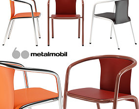 Metalmobil Mare armchair 3D