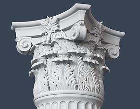 Corinthian Column 3D