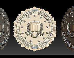 FBI Seal - 3D Badges
