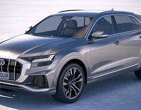Audi SQ8 2019 3D model