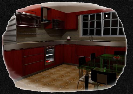 3D Interior Study