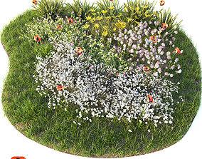 Flower bed 3D