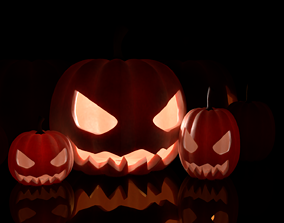 3D model Pumpkin Helloween