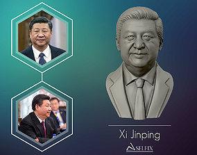 Xi Jinping 3D Portrait Sculpture people