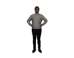 Printle Homme 441 3D model