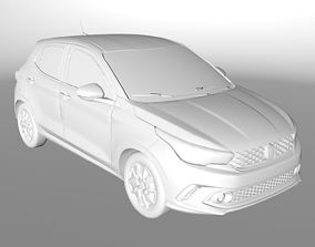 3D asset Fiat Argo Hatch