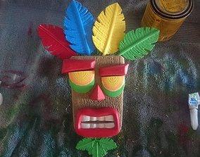video Crash Bandicoot 3D Printable AKU AKU