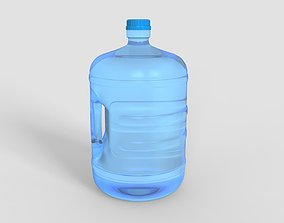 3D model Gallon Water Bottle With Cap