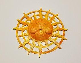 Radiant Sun 3D print model