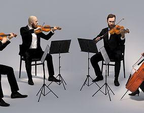 3D Scan String Quartet