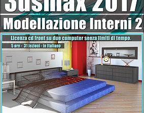 010 3ds max 2017 Modellazione Interni 2 v10 cd front