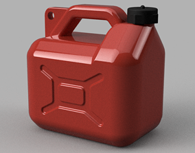3D printable model Gas tank 5L 10th scale