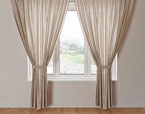 Curtain 03 furniture 3D model
