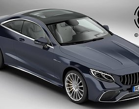 Mercedes S Class Coupe AMG S65 2018 3D