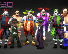 Horror Circus Pack 3D