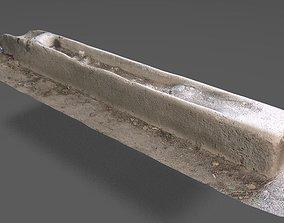 3D model concrete block