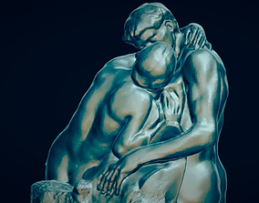 3D printable model The Kiss by Rodin