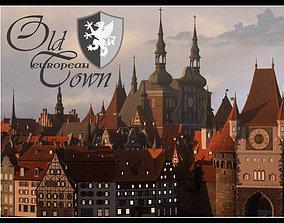 Old European Town 3D model