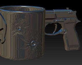 Punisher mug for 3d printing