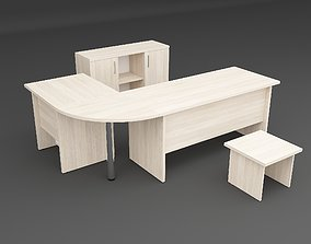Staff Table Set 3D