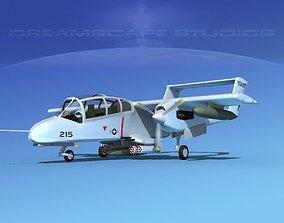 3D Rockwell OV-10 Bronco USMC 4