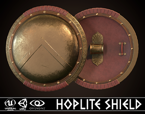 3D asset Hoplite Shield Sparta
