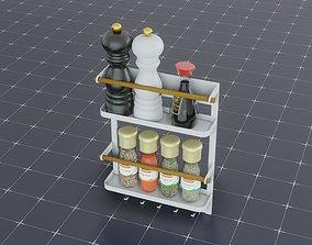 Spice Rack 3D PBR