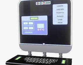 Minimalistic Computer 05 3D model