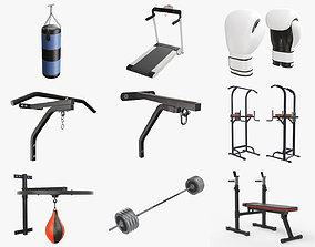 Sports equipment vol1 3D model